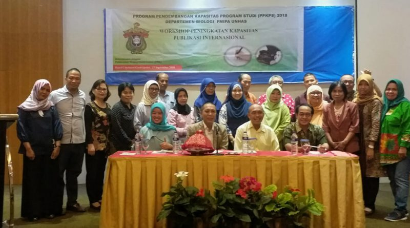 Departemen Biologi Melaksanakan Workshop Publikasi Ilmiah